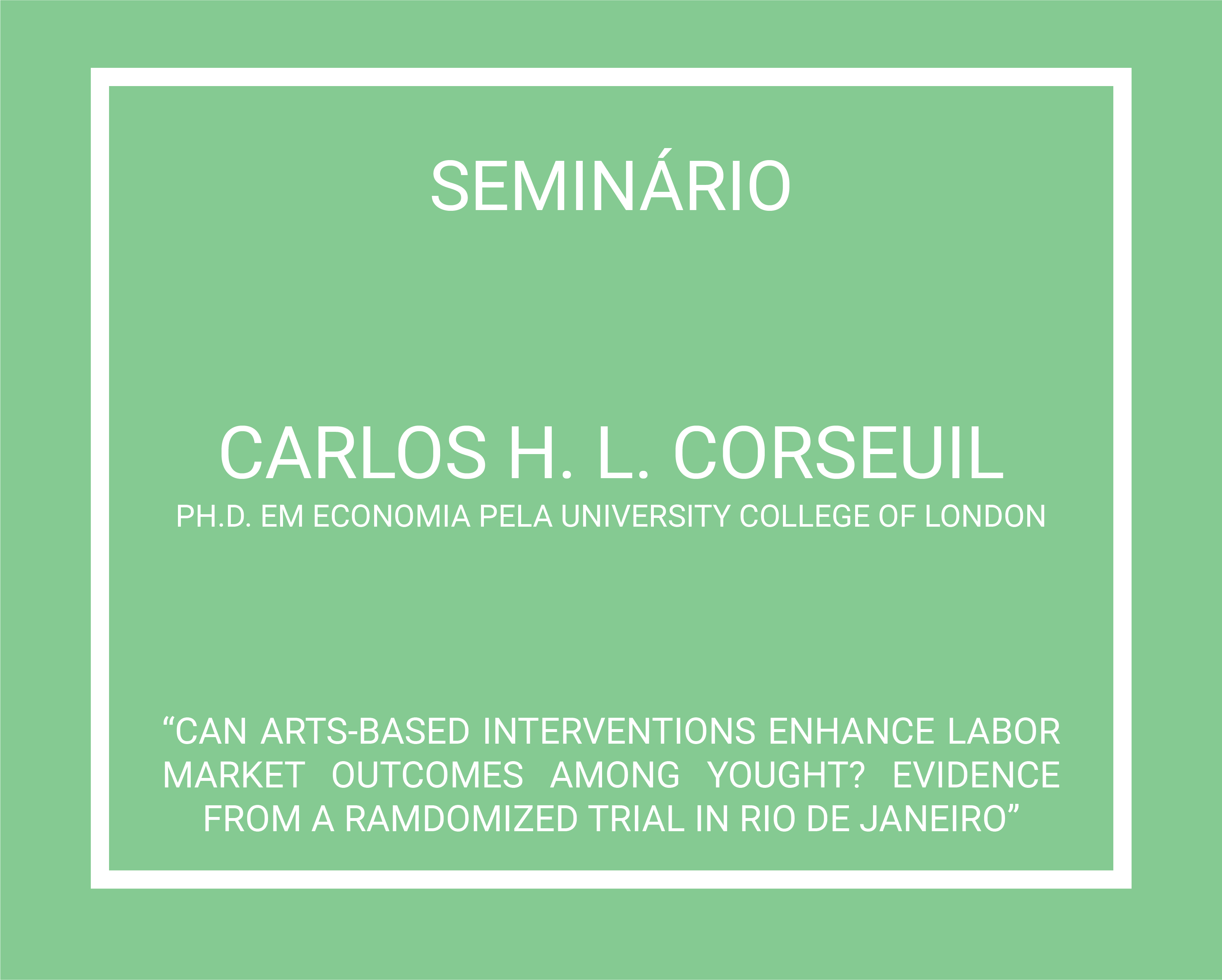 Carlos H L Corseuil