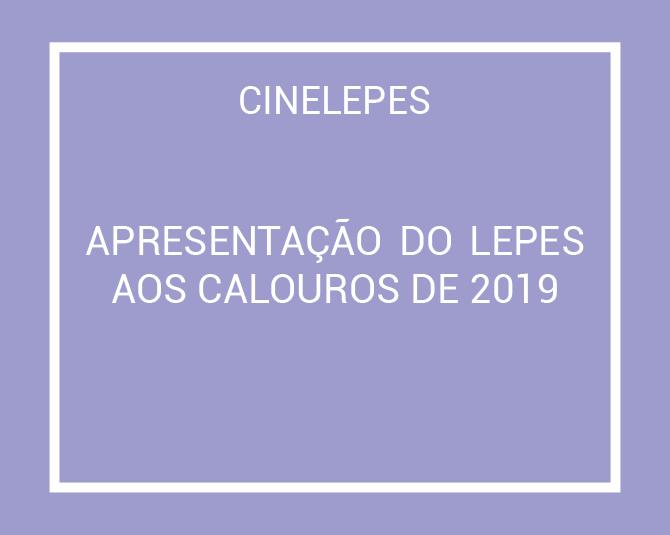 Apresentação do LEPES 2019